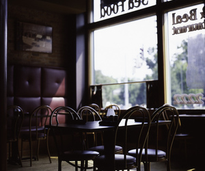 coffee, coffee shop, and diner image