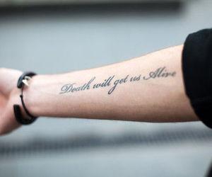 life and tattoo image