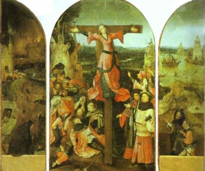 cross, persecution, and crucifixion image