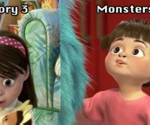 boo, grow up, and monsters inc. image