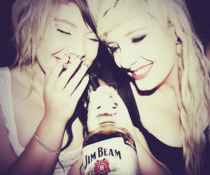 drink, girls, and smile image