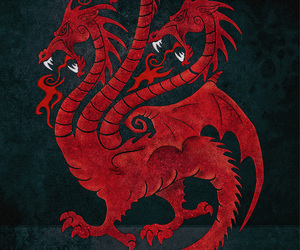 dragon, game of thrones, and fire and blood image