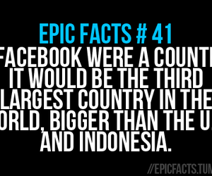 country, facebook, and fact image