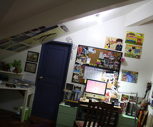 awesome, room, and computer image