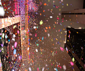 confetti, photography, and colorful image