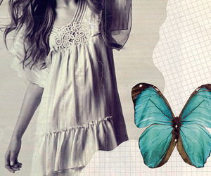 butterfly and scrapbooking image