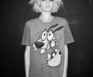 grunge, blonde, and courage the cowardly dog image