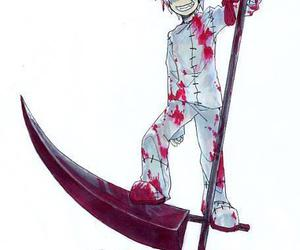 blood, soul eater, and stein image