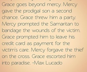 grace, max lucado, and instagram image