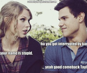 lol, Taylor Lautner, and Taylor Swift image