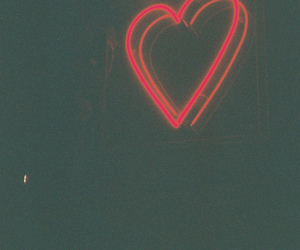 heart, red, and light image