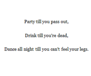 dance, dead, and drink image