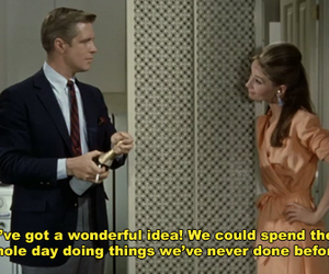 audrey hepburn, caption, and screencap image
