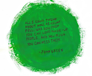 john green and quote image