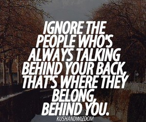 quote, bullying, and ignore image