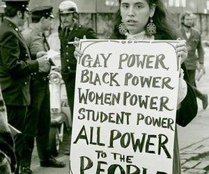 power, gay, and woman image