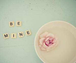 love, be mine, and rose image