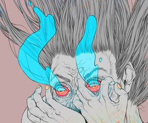 art, psychedelic, and illustration image