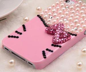 hello kitty, iphone covers, and phonecase image