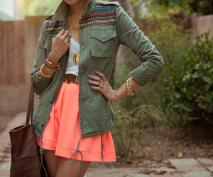 casual, fashion, and skirt image
