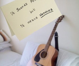 guitar and nothing image