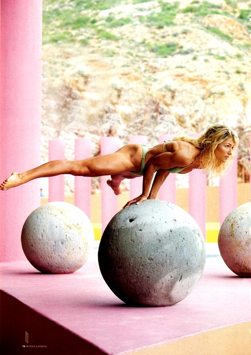 beautiful, woman, and yoga image