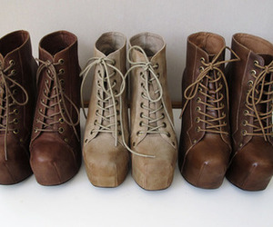 shoes, fashion, and boots image
