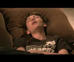 boy, funny, and sleeping image