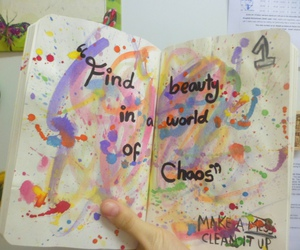 book, paint, and watercolour image