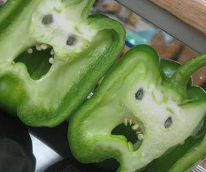 funny, food, and pepper image
