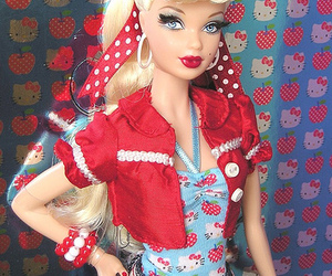 barbie, doll, and Pin Up image