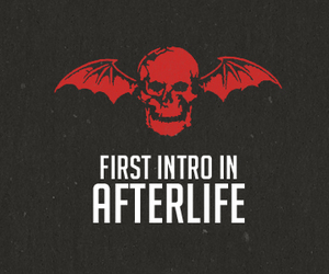 afterlife, avenged sevenfold, and intro image