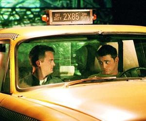 chandler bing, joey tribbiani, and Matthew Perry image