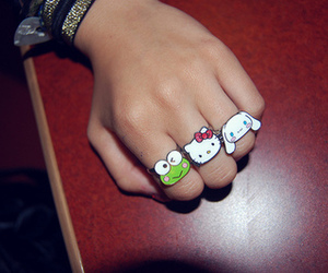 hello kitty and rings image