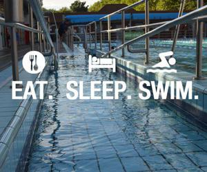 swim, eat, and sleep image
