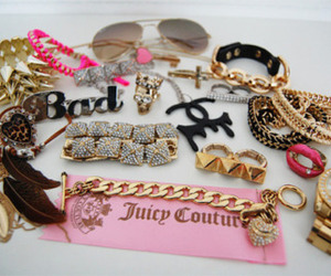 pink, juicy couture, and girly image