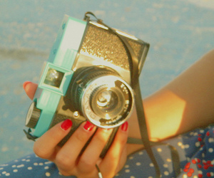 camera and vintage image