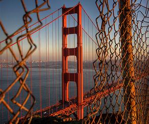 bridge, photography, and california image