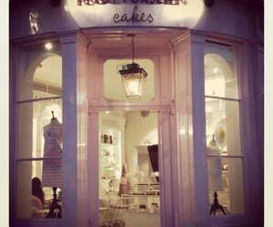 cakes, london, and store image