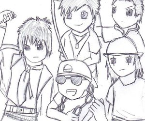 a7x, avenged sevenfold, and drawing image
