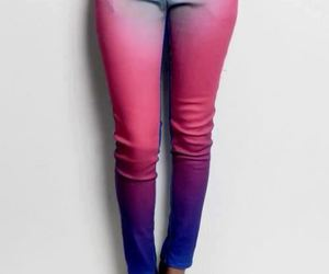 jeans, pink, and cool image