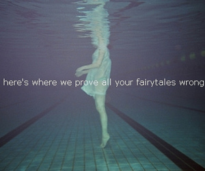 fairytale, water, and girl image
