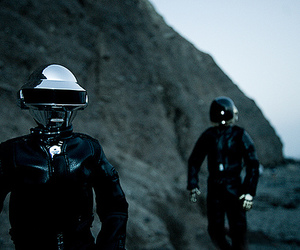 daft punk, robot, and rock image