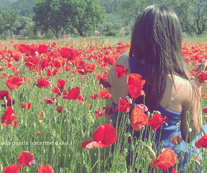 girl, red, and pretty image