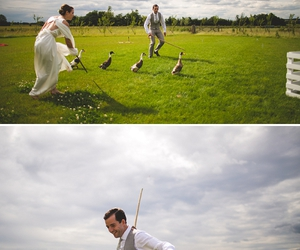 bride, field, and meadow image