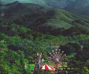 forest, carnival, and nature image