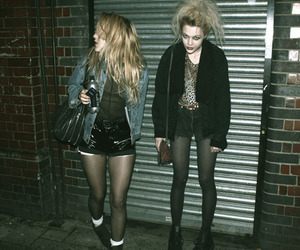 punk and blonde image
