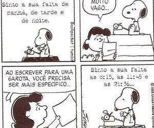quadrinhos, snoopy, and querida namorada image