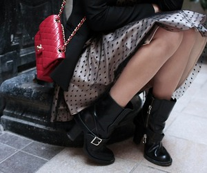 alix, chanel, and red image
