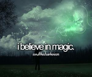 magic, believe, and harry potter image